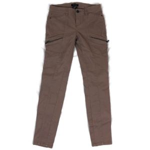 White House Black Market Tan Brown Skinny Stretch